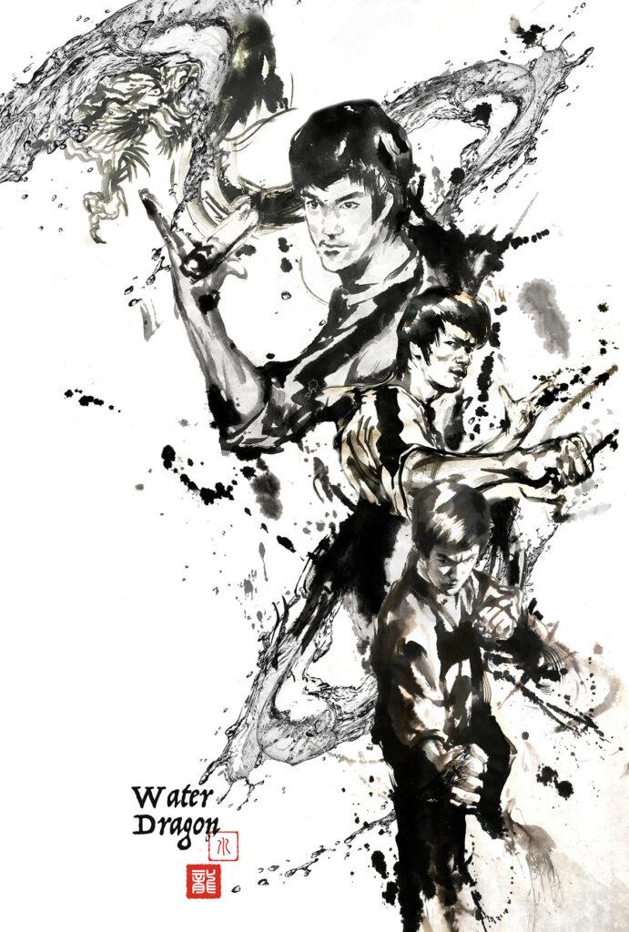 Anita Yan Wong, Bruce Lee ESPN poster
