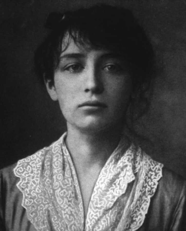 'Muse' in the Arts: Camille Claudel in 1884 (aged 19) muse in art: