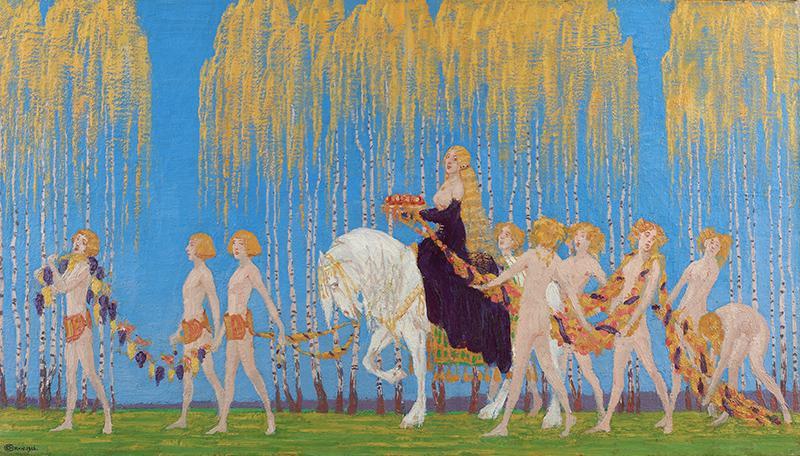Allegories of Autumn: Edward Okun, Autumn Apotheosis,