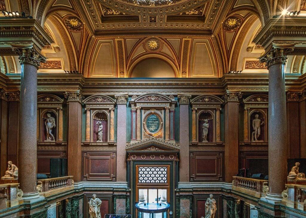 Fitzwilliam Museum interior