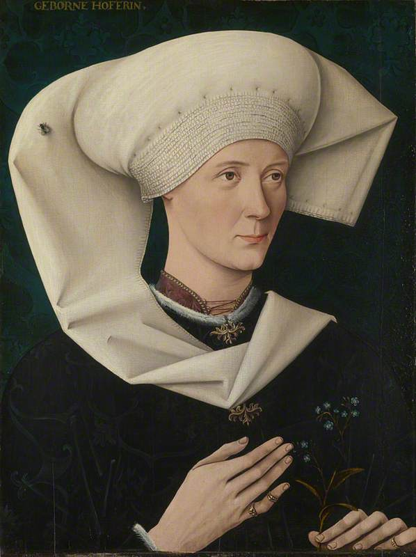 Portrait of a Woman of the Hofer Family, 1470,