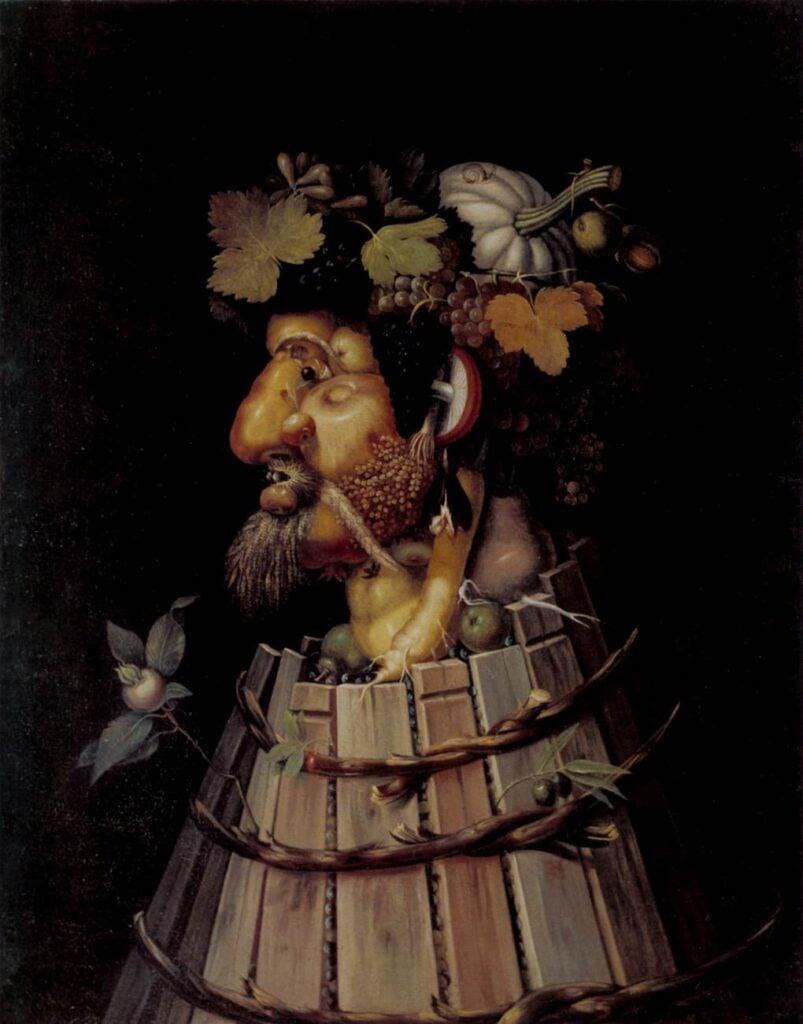 Allegories of Autumn: Giuseppe Arcimboldo, Autumn