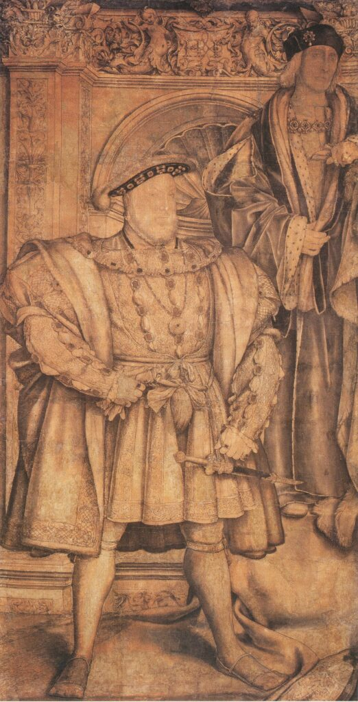 Hans Holbein the Younger, Henry VIII and Henry VII,