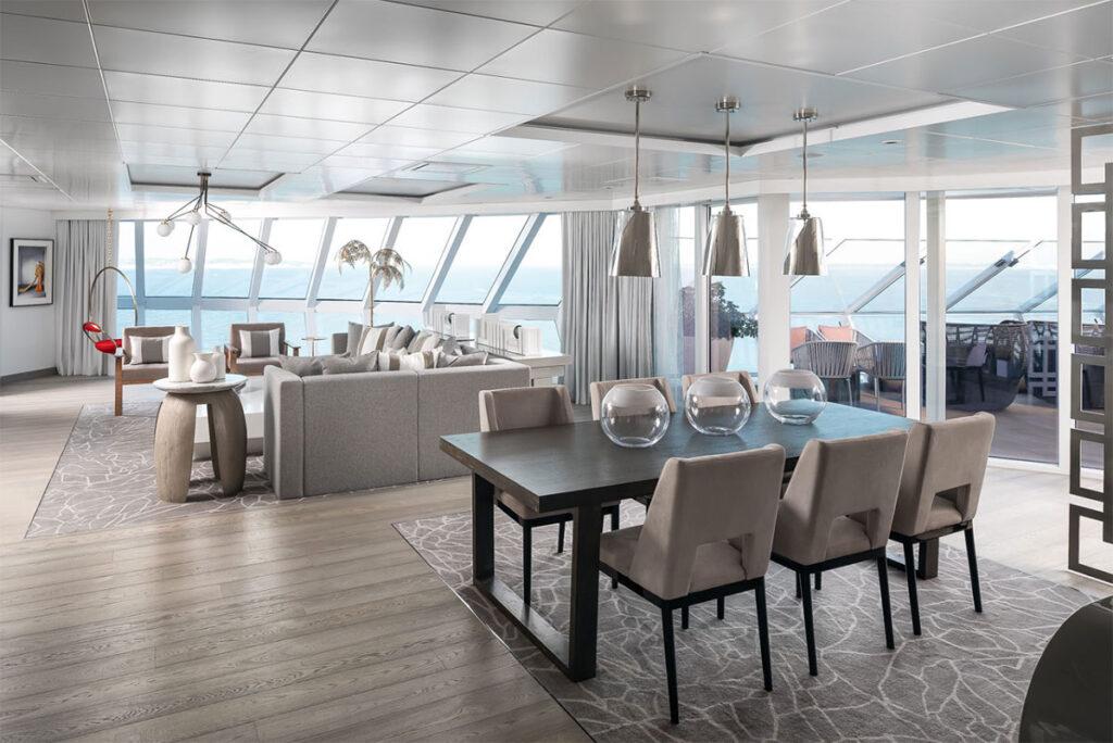Five Key Women in Contemporary Interior Design: Kelly Hoppen, Celebrity Edge cruise ship