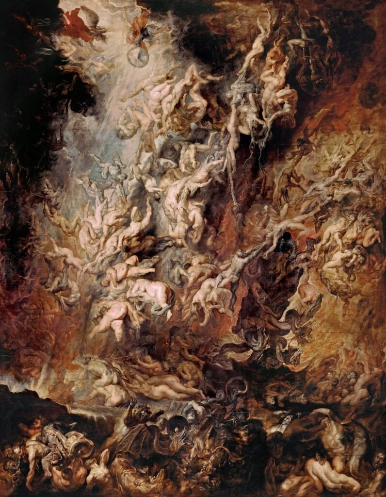 Art in the Netflix tv series Dark: Peter Paul Rubens, The fall of the damned, 1620