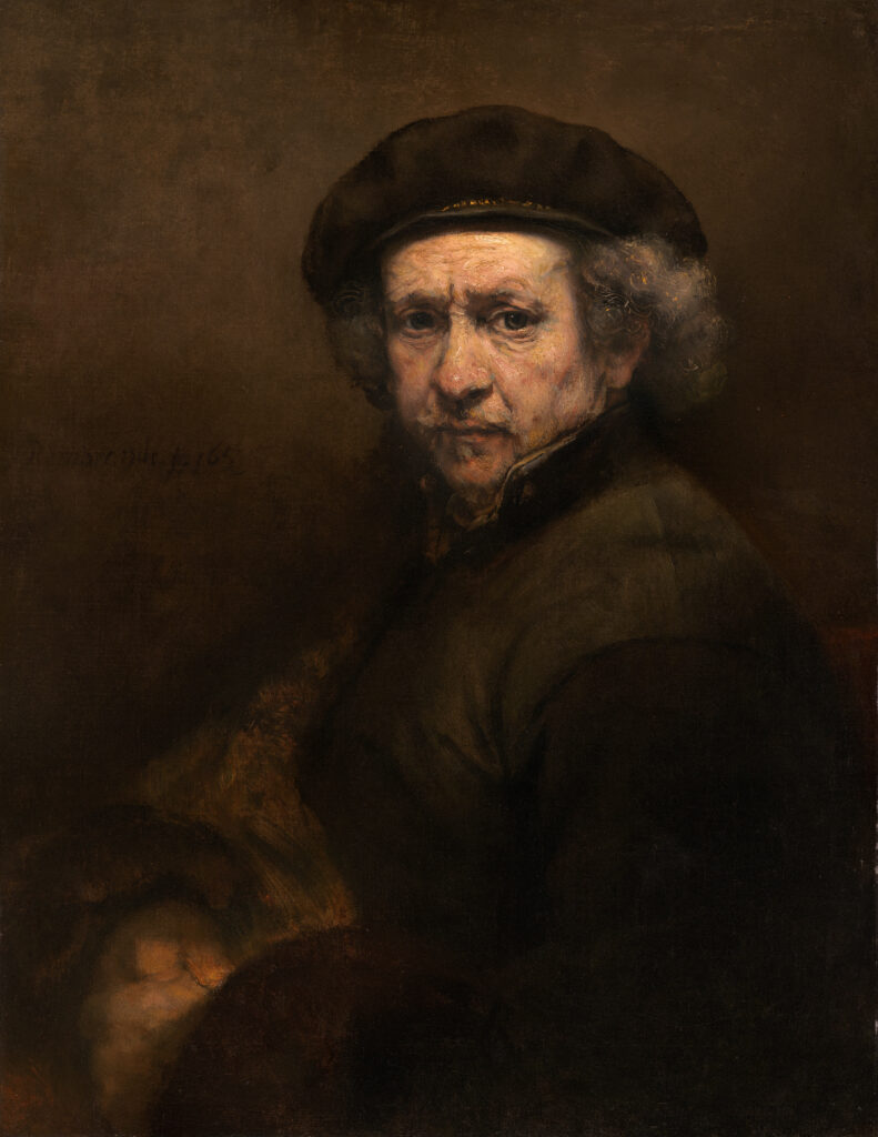 Self-portraits to know: Rembrandt, Self-portrait, 1659, National Gallery of Art, Washington D.C., USA