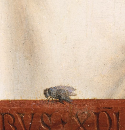 Bugs and critters hiding in paintings:
