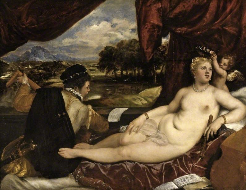 The Fitzwilliam Museum highlights: Titian, Venus and Cupid with a Lute Player