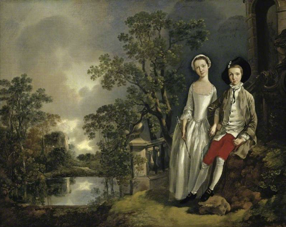 The Fitzwilliam Museum highlights: Thomas Gainsborough, Heneage Lloyd and His Sister, Lucy,