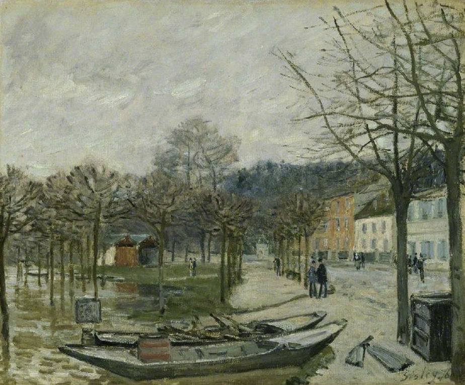 The Fitzwilliam Museum highlights: Alfred Sisley, The Flood at Port-Marly,