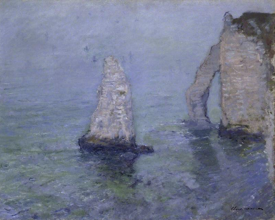 The Fitzwilliam Museum highlights: Claude Monet, The Rock Needle and Porte d'Aval, Etretat