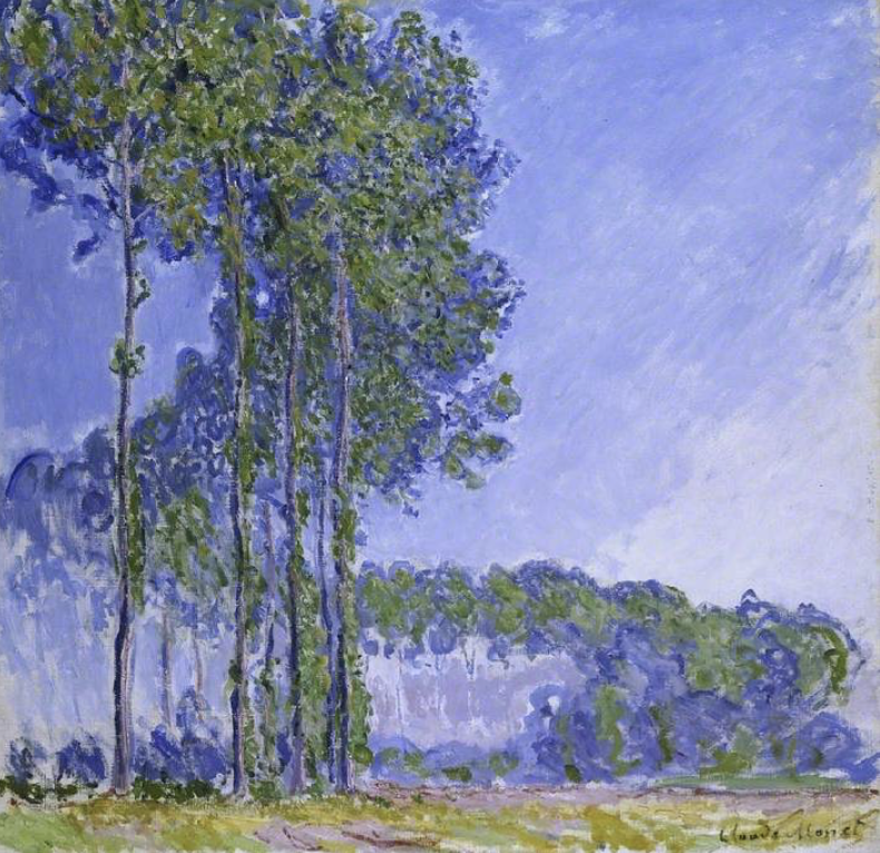 The Fitzwilliam Museum highlights: Claude Monet, Poplars, 1891, oil on canvas