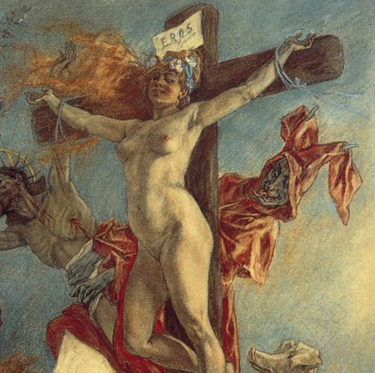 Félicien Rops, The Temptations of St. Anthony