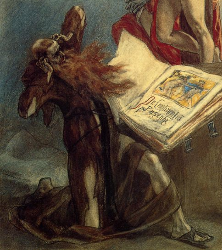 Félicien Rops, The Temptations of St. Anthony,
