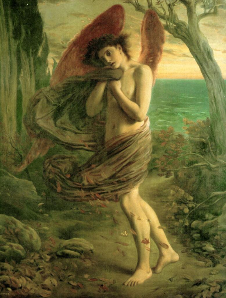 Allegories of Autumn: Simeon Solomon, Love in Autumn