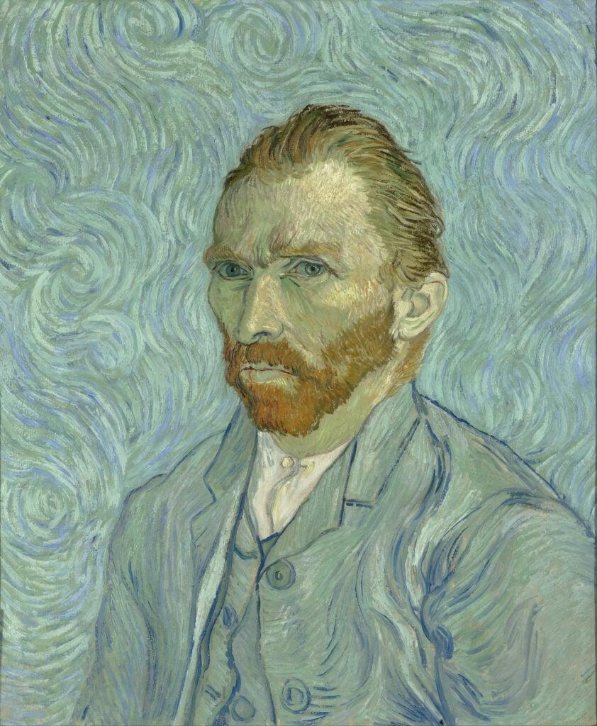 Self-portraits to know: Vincent van Gogh, Self-portrait, 1889, Musée d' Orsay, Paris, France