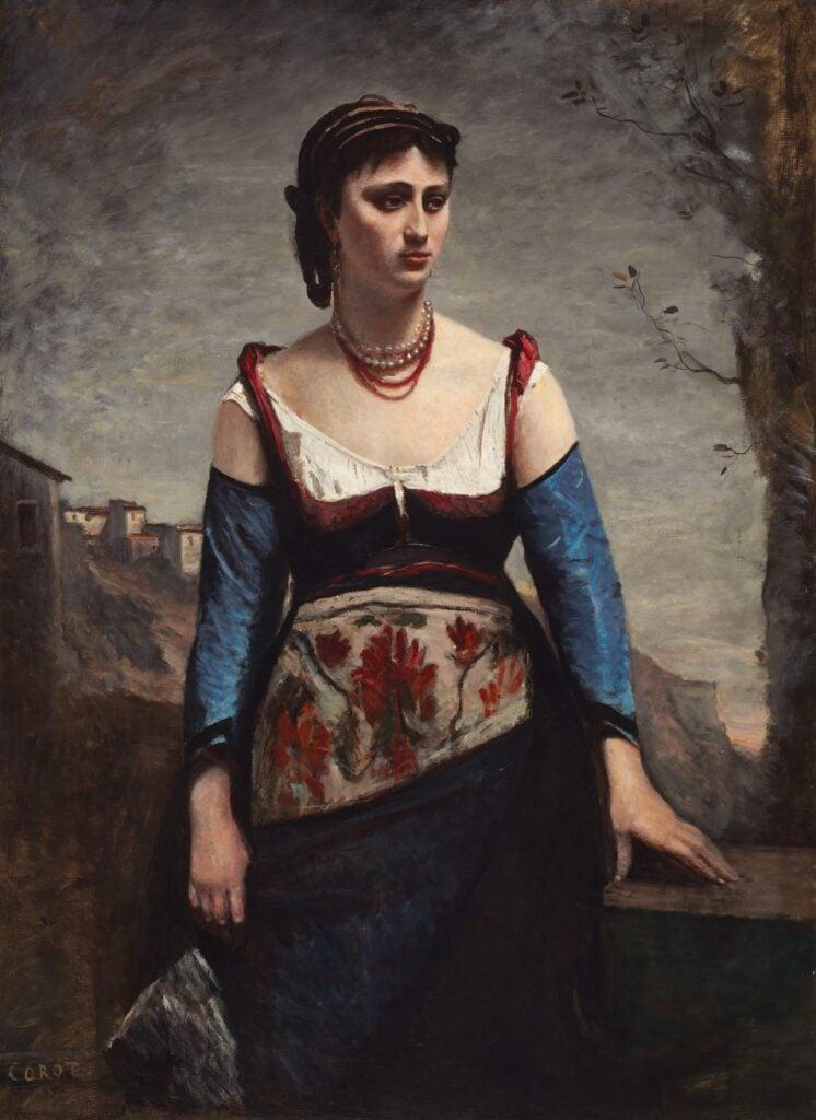 Jean-Baptiste-Camille Corot, Agostina; Agostina Segatori