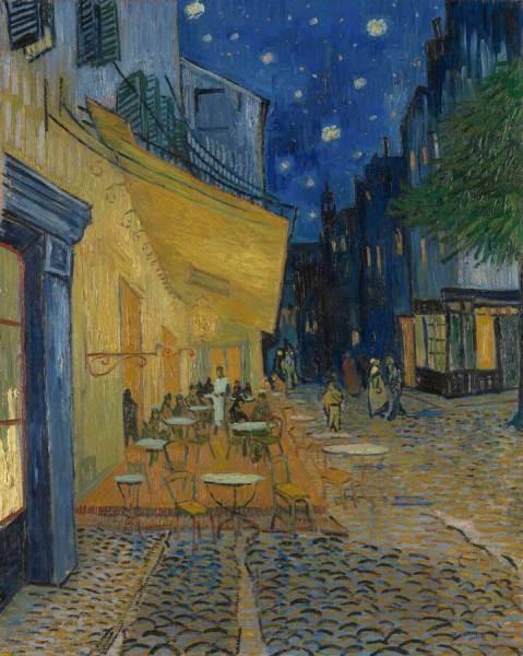 Van Gogh, Cafe Terrace at night,Kröller-Müller