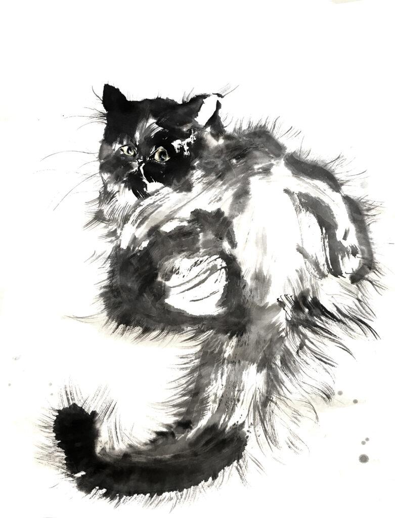 Anita Yan Wong, Ink kitten #6