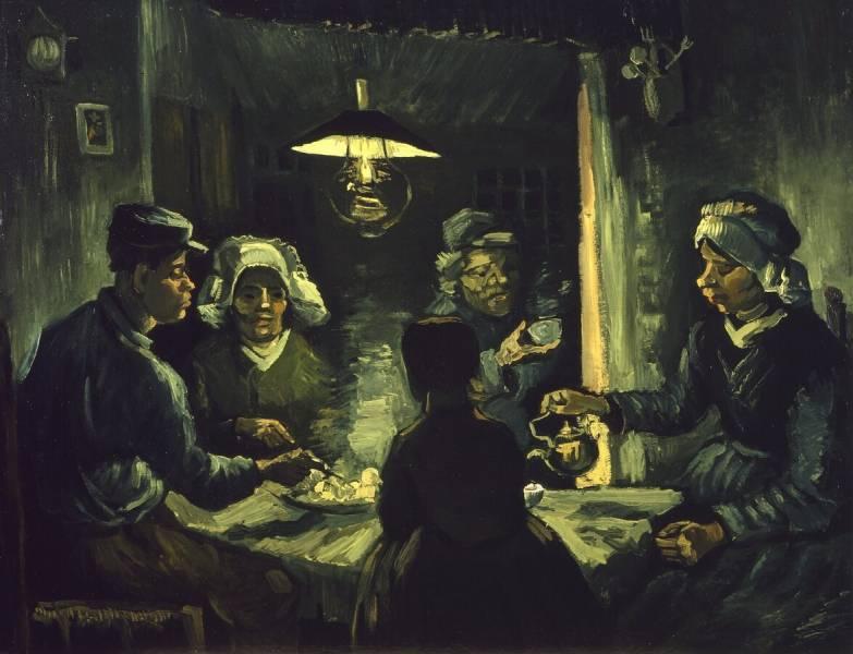 Vincent Van Gogh, The Potato Eaters