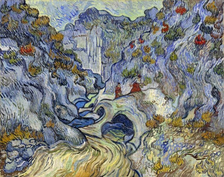 The Ravine, Van Gogh, Kröller-Müller