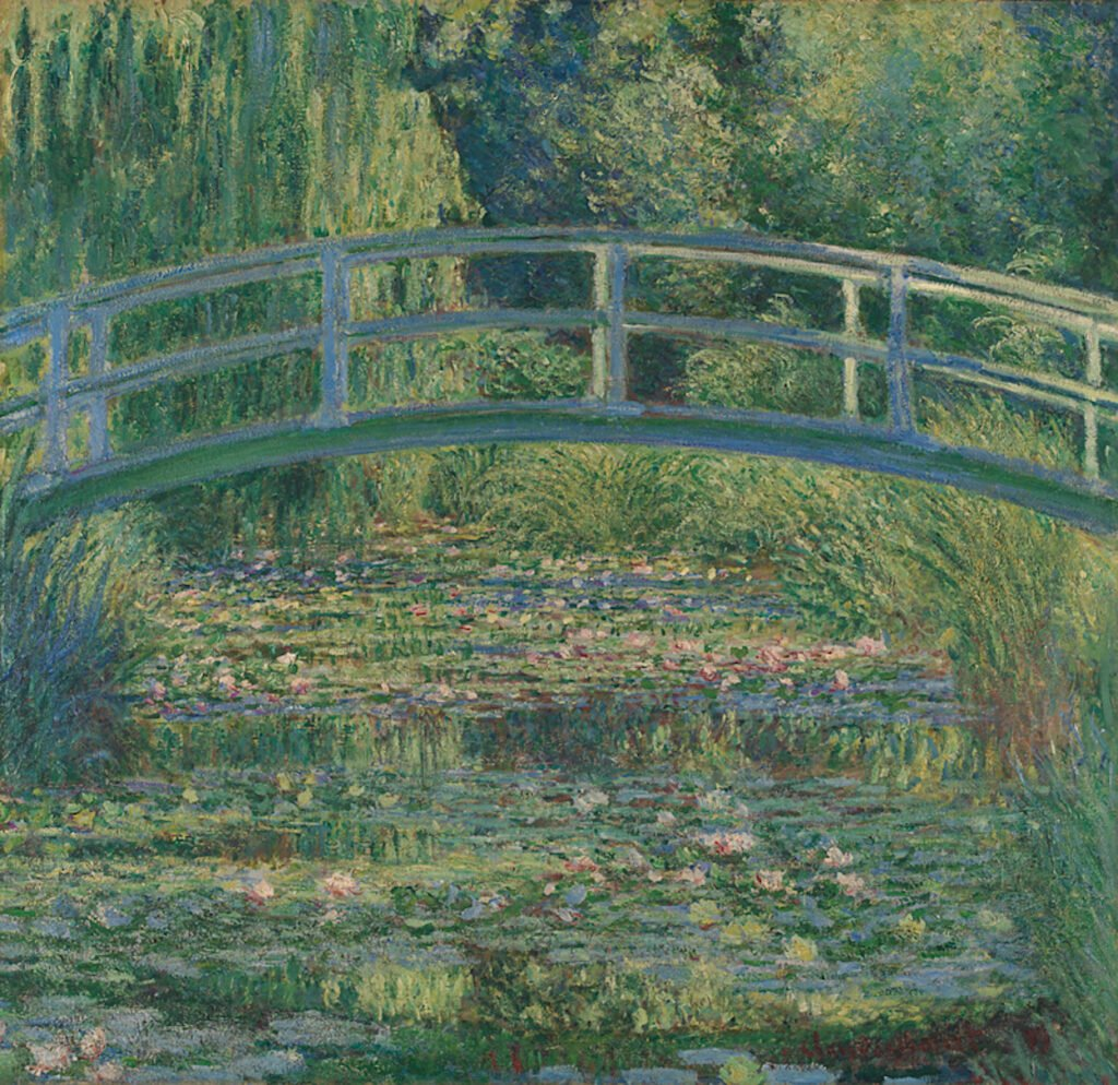 DailyArt app best paintings: Claude Monet, The Water-Lily Pond,