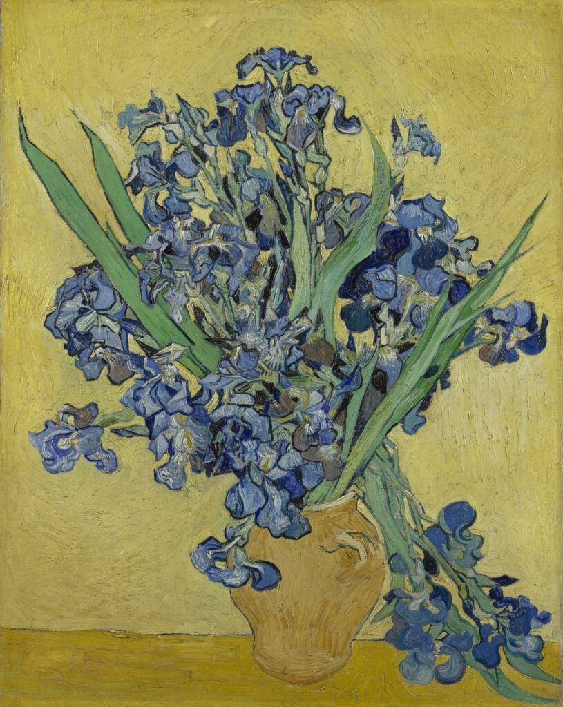 DailyArt app best paintings: Vincent van Gogh, Irises