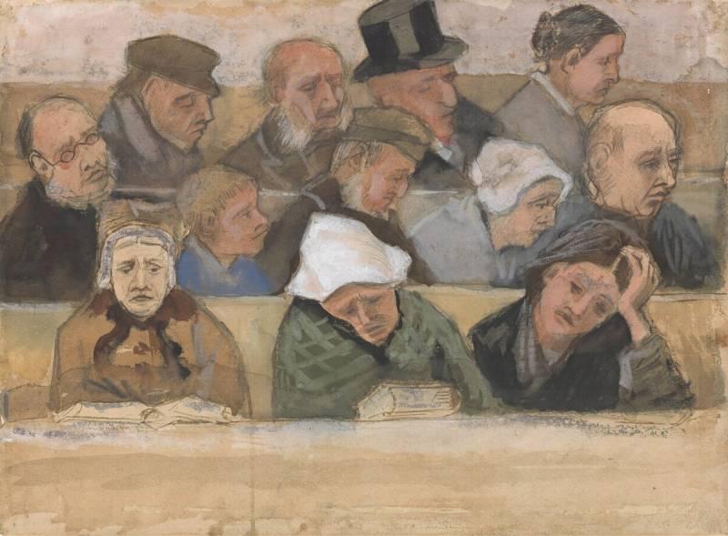 In Church, Van Gogh,