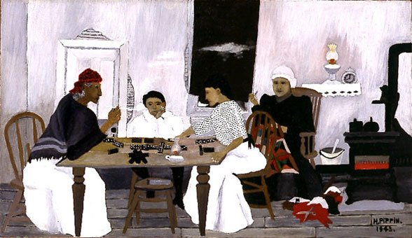 Horace Pippin, Domino Players