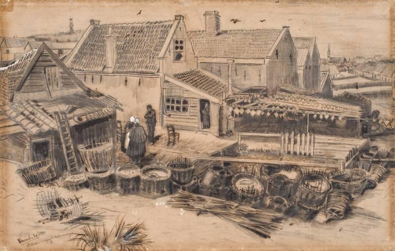 Dab Drying Barn, Van Gogh, Kröller-Müller