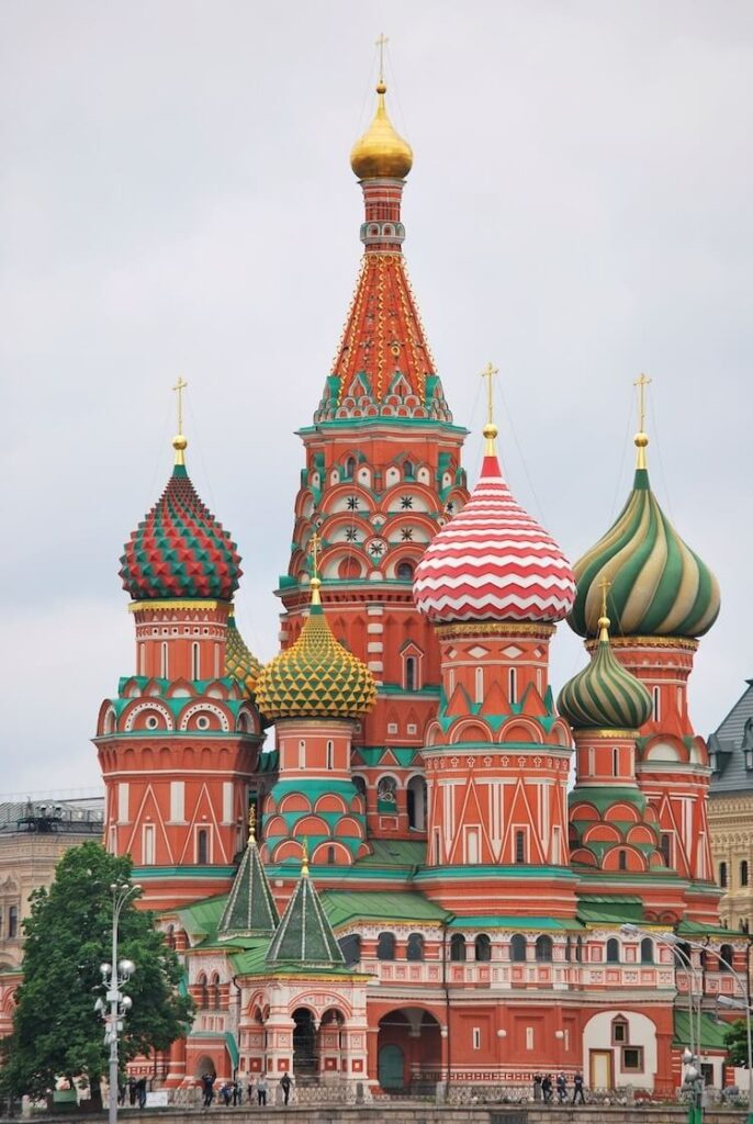 St. Basil's Cathedral, Moscow, Russia. My Modern Met. Colorful temples.