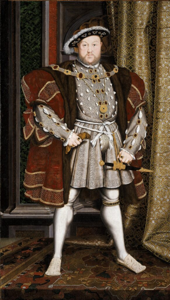 Workshop of Hans Holbein the Younger, Portrait of Henry VIII,