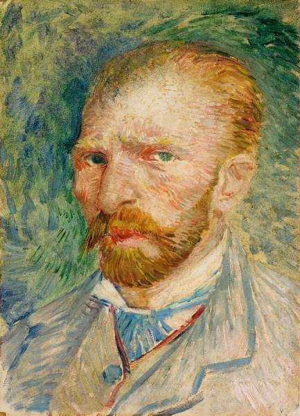 Self-portrait of Van Gogh, Kröller-Müller