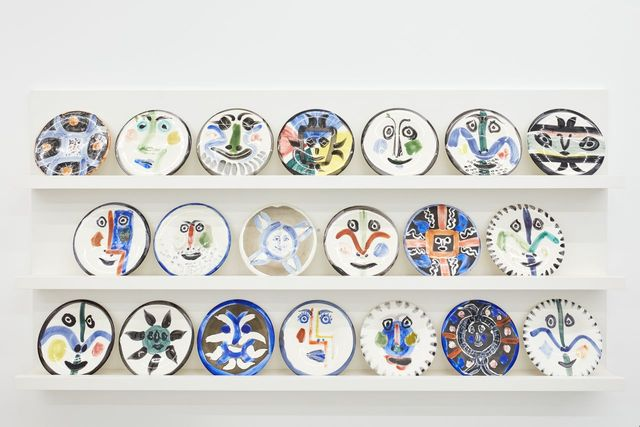Installation images of Atelier Picasso, BASTIAN gallery,