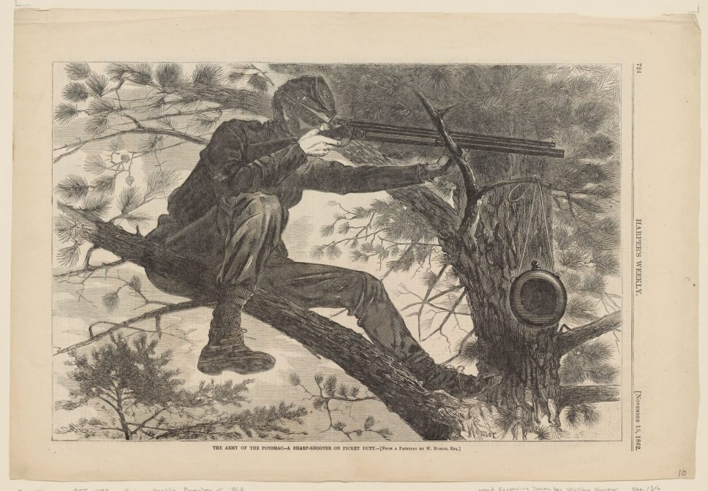 After Winslow Homer, The Army of the Potomac—A Sharp-Shooter on Picket Duty
