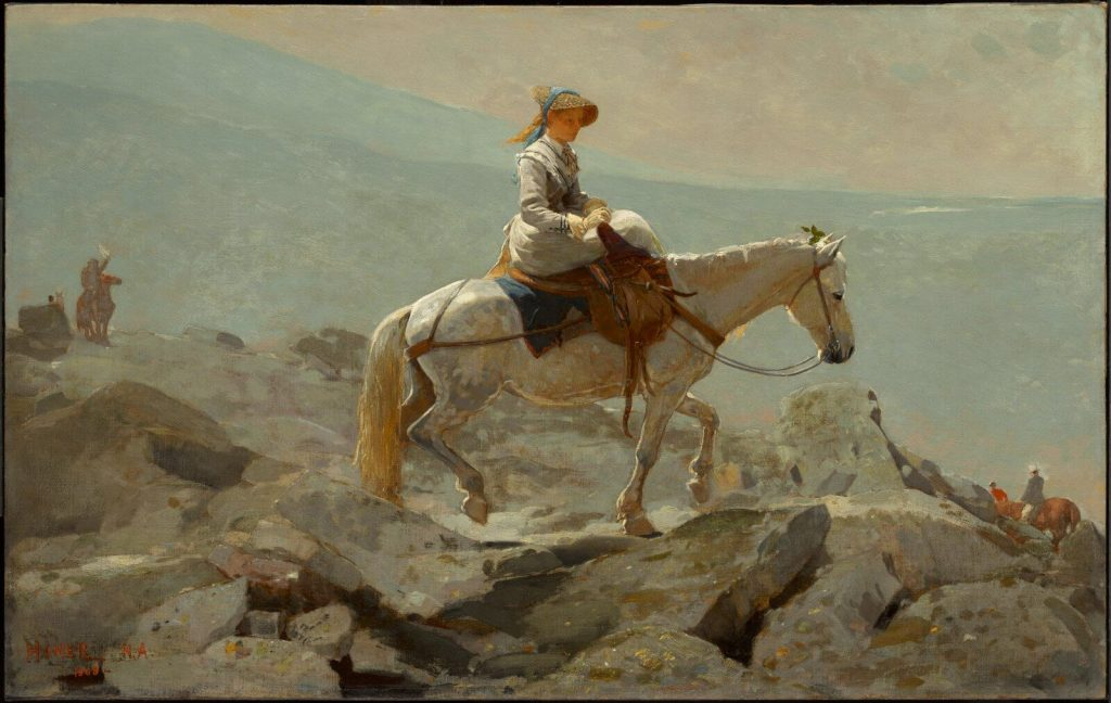 Winslow Homer, The Bridle Path, White Mountains