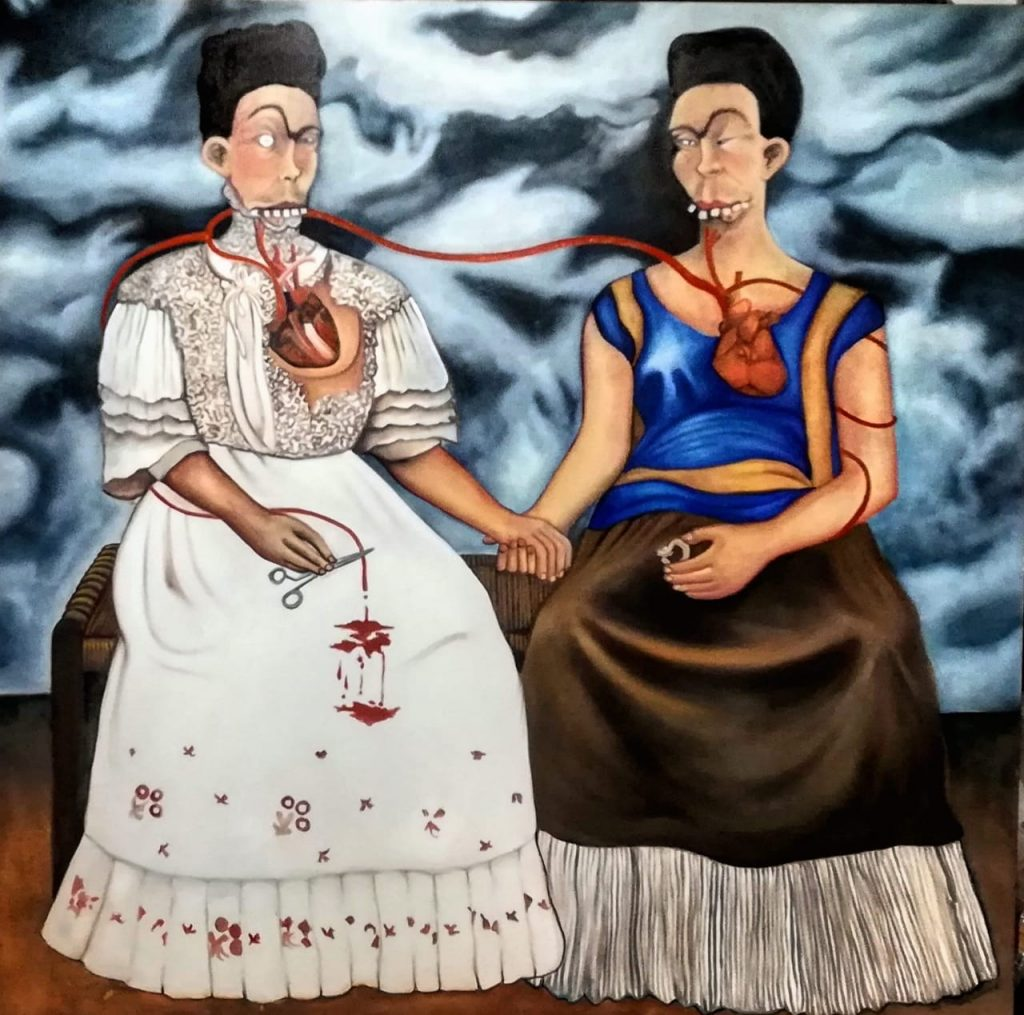 Michael Lombard, The Two Fridas, 2020, ©Michael Lombard.