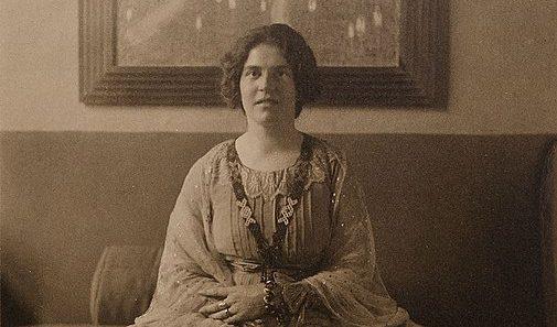 Portrait of Elena Luksch-Makowsky