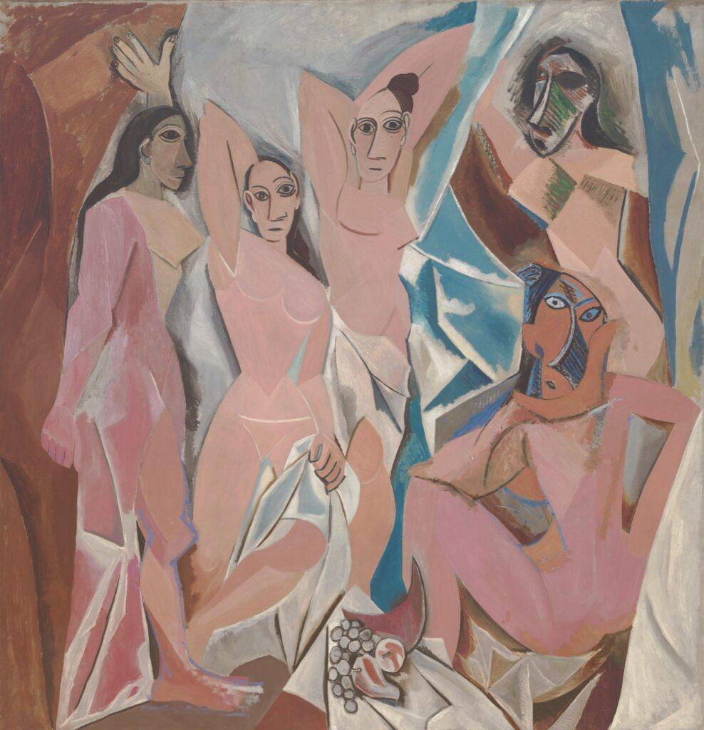 Art History 101: Pablo Picasso, Les Demoiselles d'Avignon