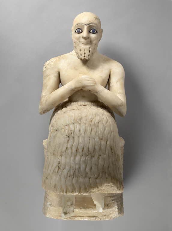 Art History 101: Statue of Ebih-Il-un-banda, votive statue