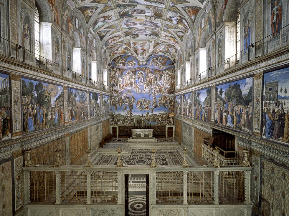 Art History 101:The Sistine Chapel, Vatican City, The Vatican