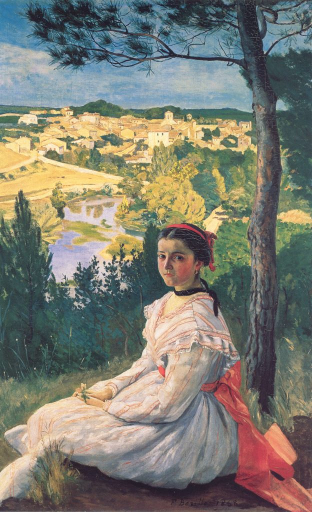 Frédéric Bazille, View of the Village, 1868,