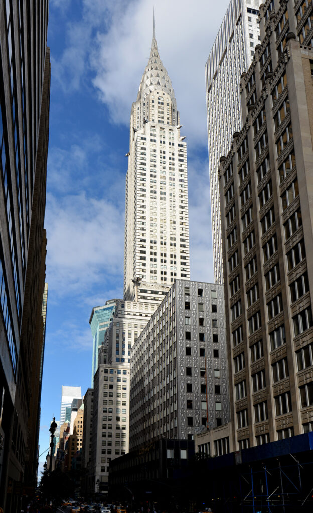 Art History 101: Picture of The Chrysler Building in New York City