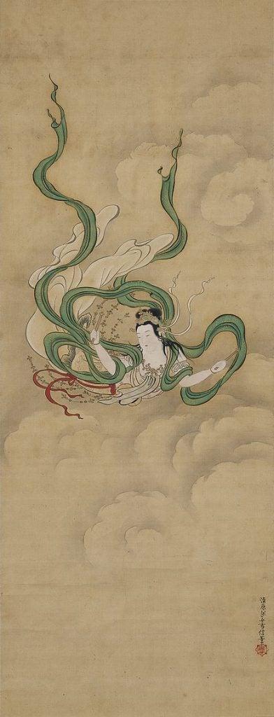 Kiyohara Yukinobu, Flying Celestial