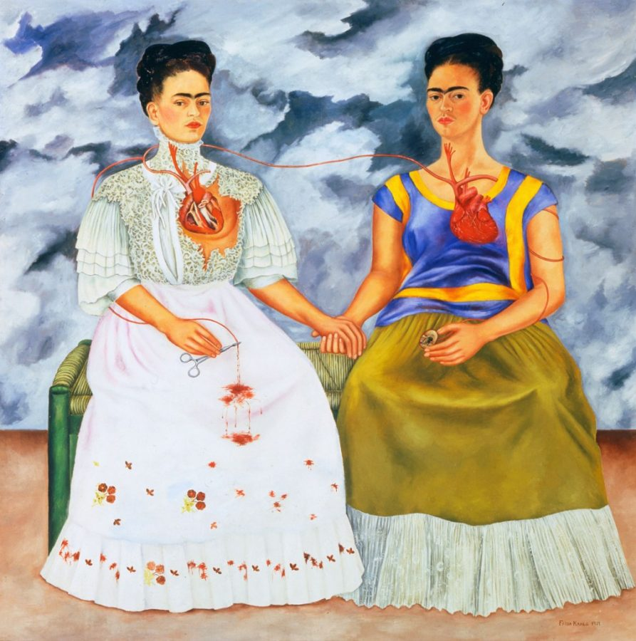Frida Kahlo: the suffering behind her paintings; Frida Kahlo, The Two Fridas,