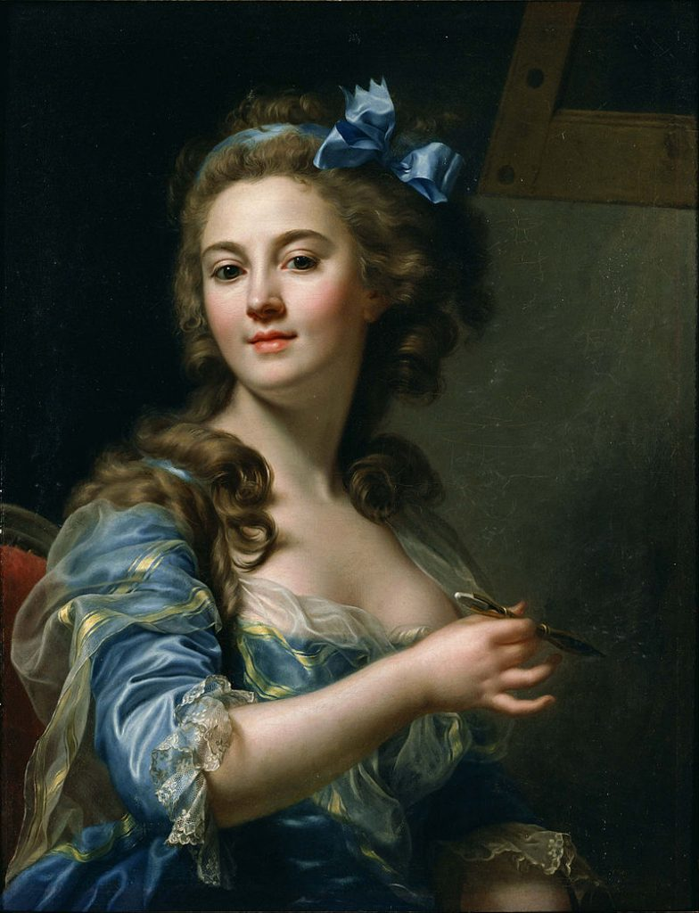 Marie-Gabrielle Capet painted one of the most famous female artist self-portraits of the 18th century.