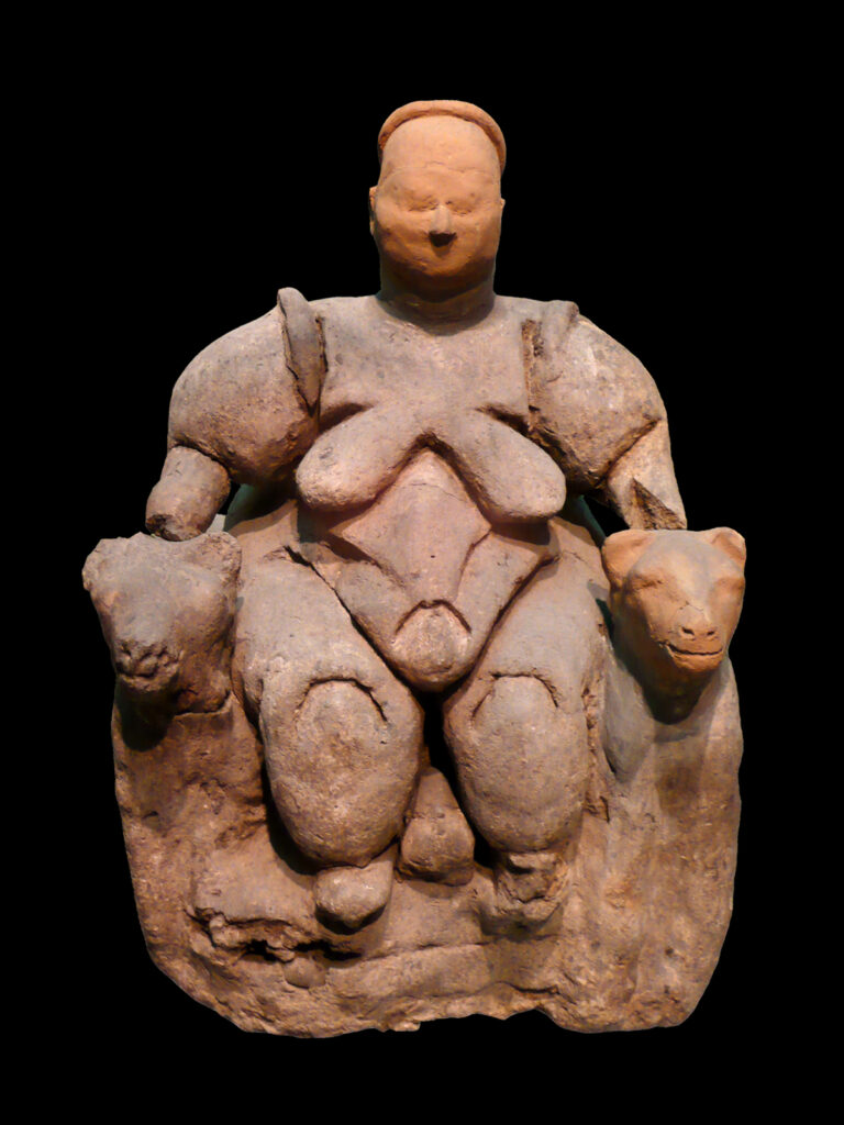 The Best Boobs in Art History: the Seated Woman of Çatalhöyük