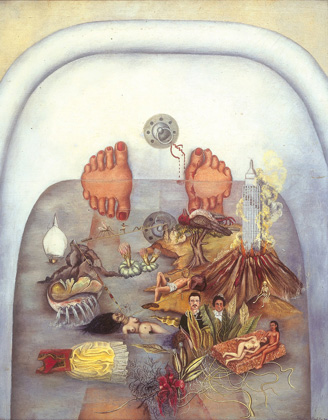 Frida Kahlo, What the Water Gave Me, 1938,