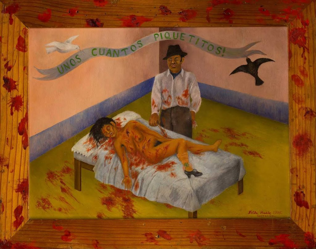 Frida Kahlo: the suffering behind her paintings; Frida Kahlo, A Few Small Nips