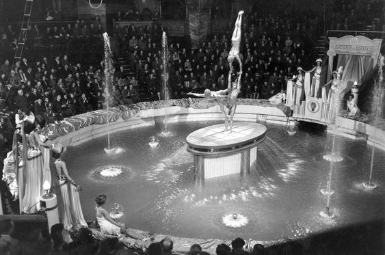 Blackpool Tower pool, date unknown